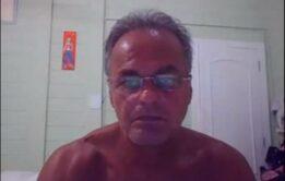 Kadu Moliterno pelado e batendo punheta no xvideos