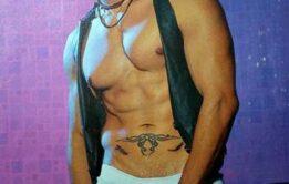 Rafael Alencar nu para a revista G Magazine