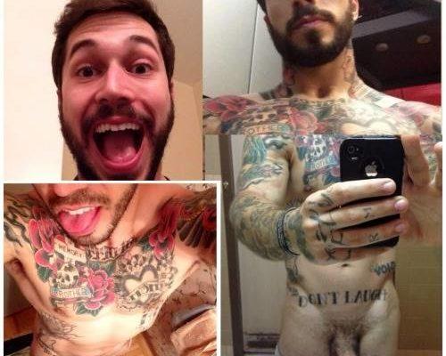 Famosos Pelados E Tatuado
