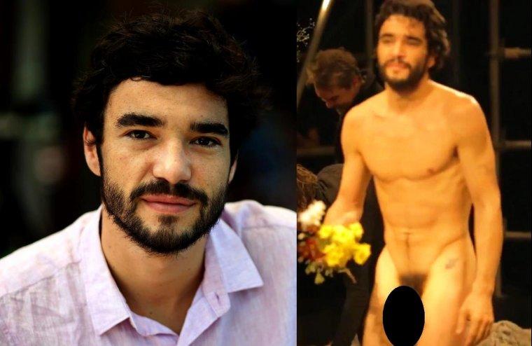 Ator Caio Blat pelado - em famosos nus