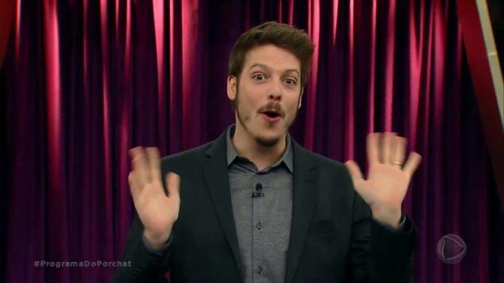 Humorista Fabio porchat pelado em serie