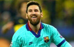 Jogador Messi com a rola marcada - Famosos nu