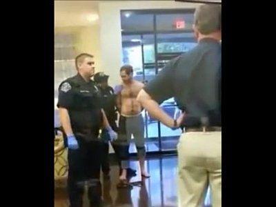 Policial pegou no pau do bandido